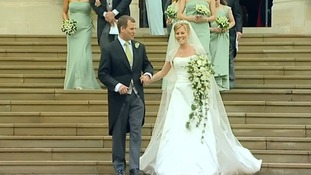 Sassi Holford designed Autumn Kelly's dress for her wedding to Peter Phillips.