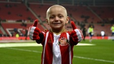 Bradley Lowery died last July after a public battle with terminal cancer.
