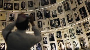 Hall of Names at Yad Vashem's Holocaust History Museum