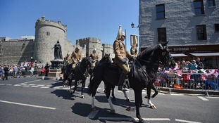 Windsor gears up for royal wedding with midweek dry-run