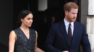 Harry and Meghan will wed on Saturday.