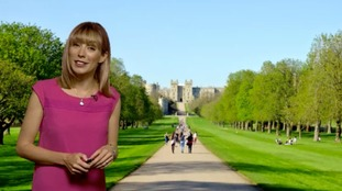 Holly has the weather forecast for the royal wedding