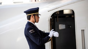 The train service in Japan is recognised for its punctuality.