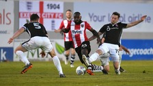 Lincoln City have lost their League Two play-off semi final.
