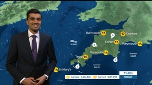 A chilly start in the South West