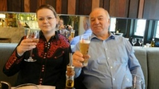 Russian former spy Sergei Skripal with his daughter Yulia, who was also exposed.