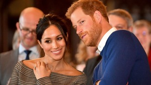 The couple will marry at Windsor Castle on Saturday.