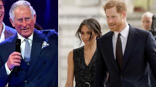 Prince Charles will walk Meghan Markle down the aisle.
