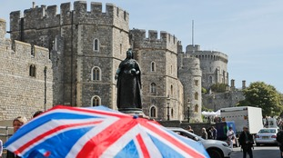 Around 100,000 people are expected to head to Windsor for the wedding.