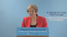 Theresa May pledges to help poorest parts of Wales