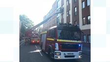 200 students forced to leave their flats after fire