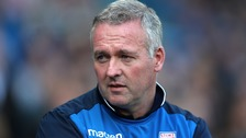 Stoke City manager Paul Lambert leaves club 'by mutual consent'