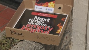 Police deliver pizza boxes to Newcastle students in new burglary campaign