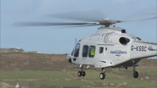 Scillies helicopter service 'to go ahead on Monday'