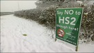 HS2 sign