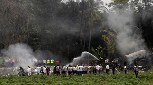 More than 100 people feared dead after Boeing 737 crashes near Havana's Jose Marti International Airport