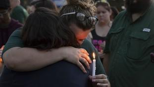 Tears follow bloodshed as Texas mourns 10 killed in school shooting