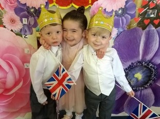 Kittens Preschool in Darwen held their very own Royal Wedding