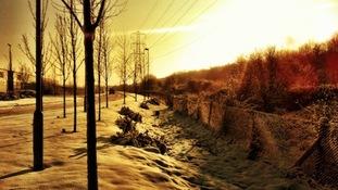 Sunrise in Sheffield