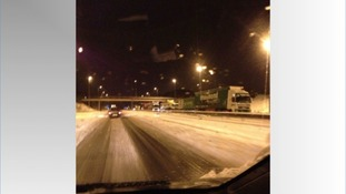 Driver's 'worst journey ever' on M6 in the snow