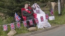 The Royal scarecrows of Hawksworth