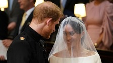 Prince Harry marries Meghan Markle at St George's Chapel