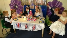 The North West celebrates the Royal Wedding