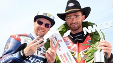 Glenn Irwin and Alastair Seeley win big at NW200