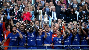 Chelsea 1-0 Manchester United: Chelsea win the FA Cup Final after Hazard's first half penalty