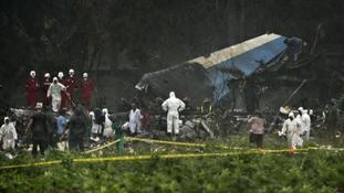 Three survivors of Cuba plane crash which killed 107 'in critical condition'