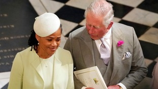 Harry's new mother-in-law Doria Ragland was among those in tears.