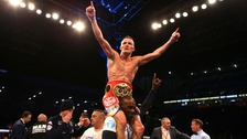 Josh Warrington beats Lee Selby to become Leeds' first world champion