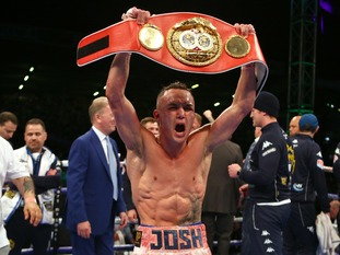 Josh Warrington is the new IBF featherweight world champion