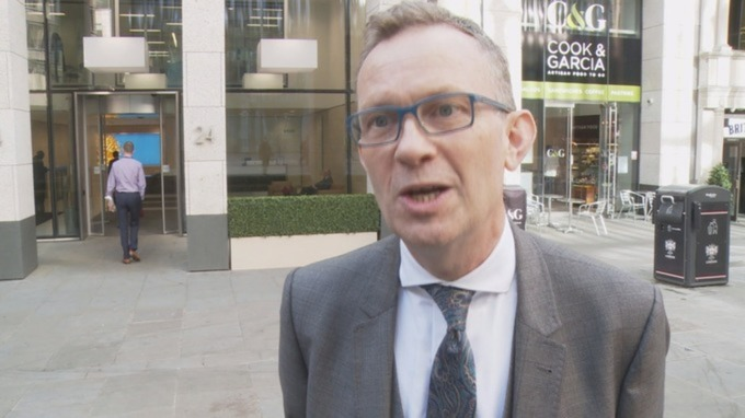 Library photo: Charles Horton speaks to ITV News Meridian in November 2016 Credit: ITV News