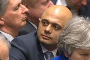 Home Secretary Sajid Javid has said that communities need 'protecting' from 'heinous crimes and vile propaganda' that can appear online.
