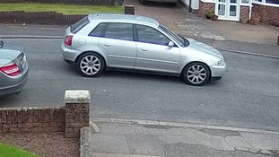 The suspect drove off in a silver Audi A3 empty handed after failing to get into the house.