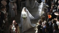 Royal wedding dress designer 'honoured' to have been chosen