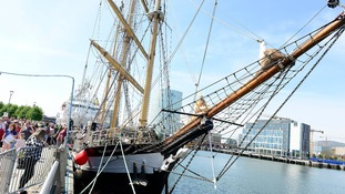 Tall Ships return to Belfast for Maritime Festival