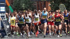 Minute's silence held at Great Manchester Run