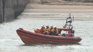 Safety warning after teenagers dragged out to sea