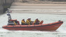 Safety warning as teenagers dragged out to sea