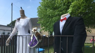 Headless Harry and Meghan spotted in Doncaster village