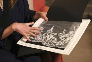 Clare Waight Keller designed Meghan's wedding dress