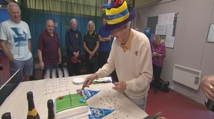 Table Tennis player marks 90th birthday