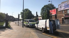 Man is stabbed to death in south London