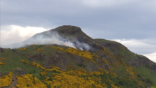 Person injured as wildfire breaks out across Arthur's Seat