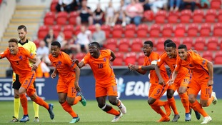 The Netherlands beat Italy to win the Under 17 European Championships on penalties