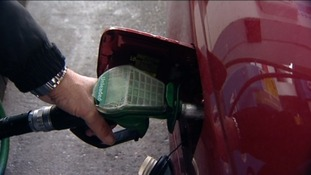 Cost of filling up increases