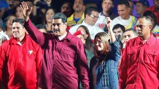 Nicolas Maduro was declared the winner in the Venezuelan election