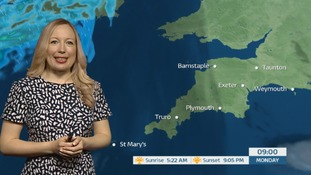Sunshine and warm weather ahead in the South West
